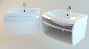 44. Wash basin 3D model free download